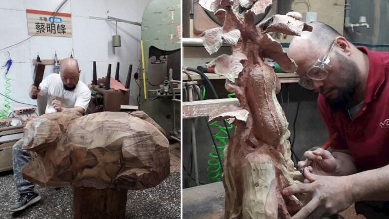 台湾木雕艺术创作者的修炼人生
