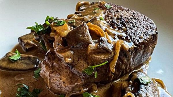 經典牛排餐有口皆碑:復古戴安牛排