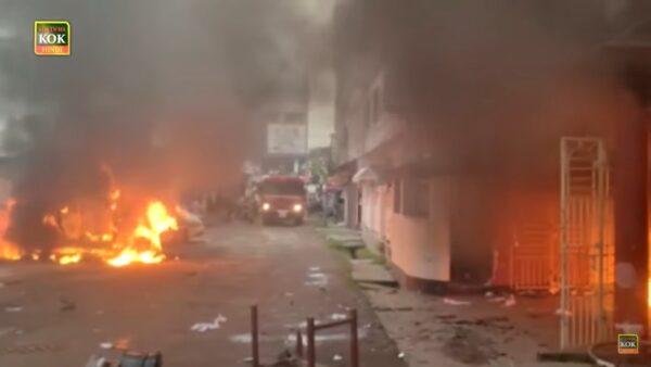 印度人民黨與共產黨爆衝突 警用催淚彈控制局勢