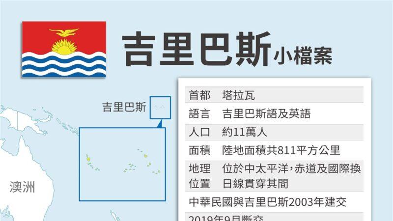 与中共抗衡 日本拟吉里巴斯开设大使馆