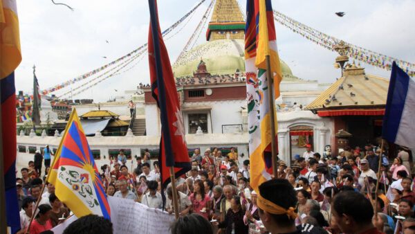 尼泊爾爆發抗議 反對中共干涉內政侵占土地
