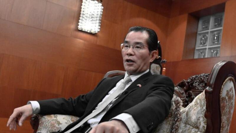 中共戰狼大使桂從友打包 瑞媒:想念他的人不會多
