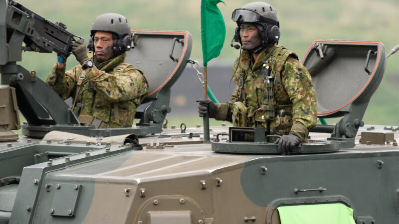 大手笔应对中共 日本拟500亿美元国防预算提案