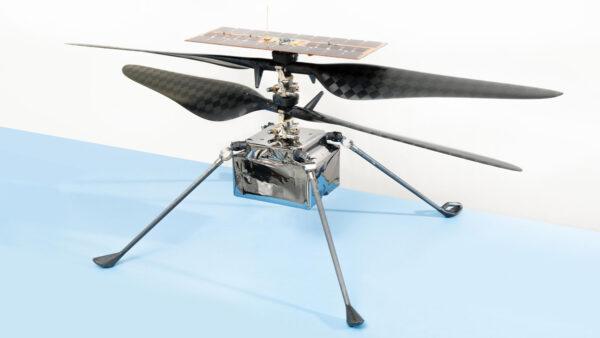 """公然抄袭? 中共火星直升机克隆美国""""机智""""号"""