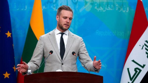 歐盟外長非正式會議 立陶宛籲一致抗共