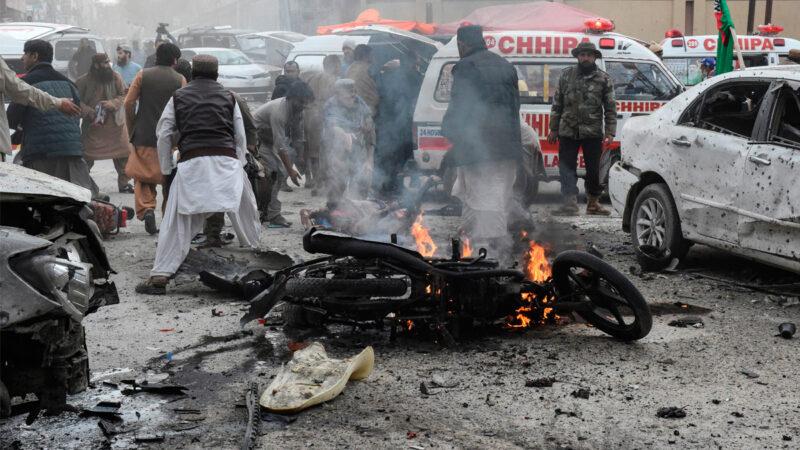 巴基斯坦遭恐襲 稱襲擊者來自阿富汗