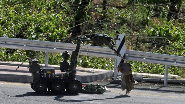 打造現代戰場 以色列推出武裝機器人