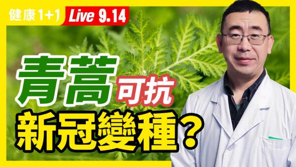 【直播】青蒿可以對抗變種病毒?