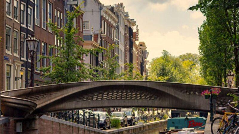 世界首座3D打印鋼製橋梁 在荷蘭落成啟用