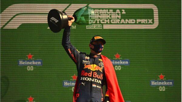F1荷蘭站 維斯塔潘主場奪冠 領跑車手積分榜