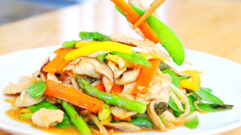 【美食天堂】美式中餐炒杂碎做法 美国人的最爱