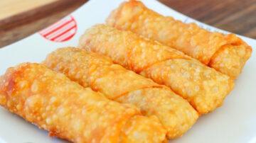 【美食天堂】香脆蔬菜春捲做法~這樣做最酥脆好吃!