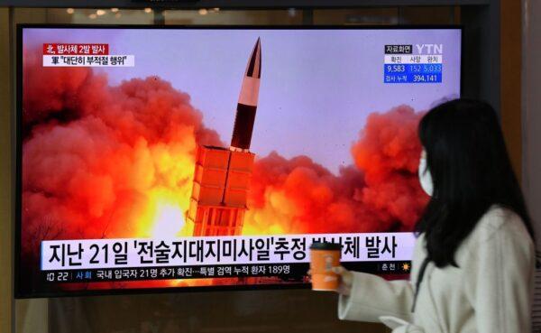 中韩外长会面 朝鲜试射弹道飞弹落入日本海