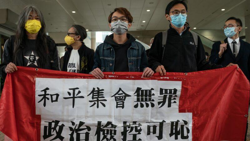 香港前立法会议员梁国雄等7人被判囚