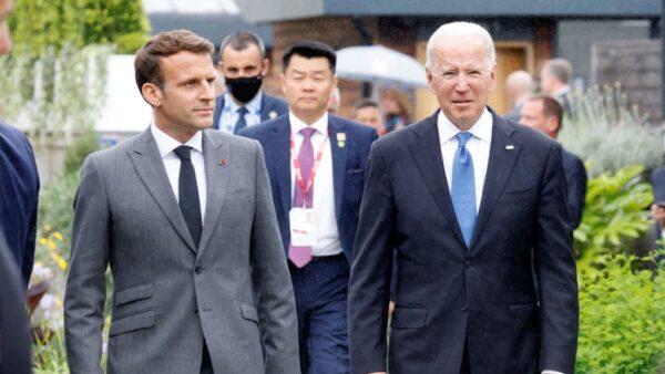 拜登馬克龍承諾互信 法駐美大使下週重返華府