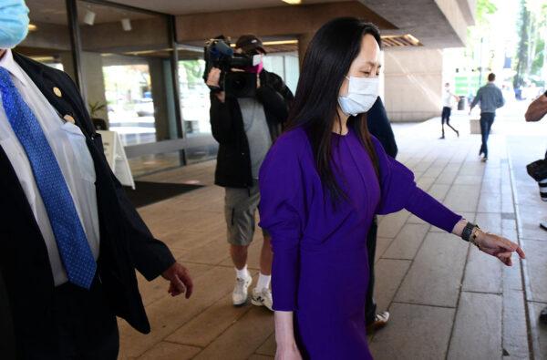 消息:美司法部和孟晚舟達協議 允許她返國