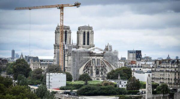巴黎聖母院完成結構鞏固工程 2024年可望重開