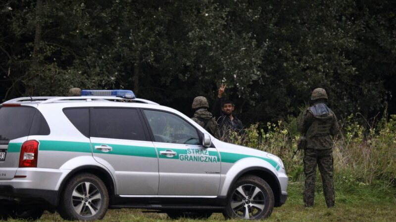 白俄放任难民进欧盟 波兰边境发现4遗体