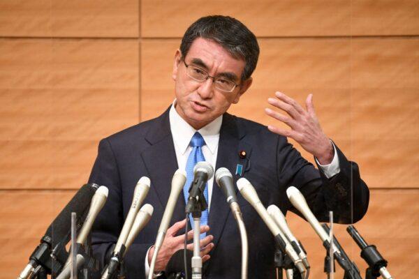 日自民党总裁选举 河野民调领先 石破牵动布局