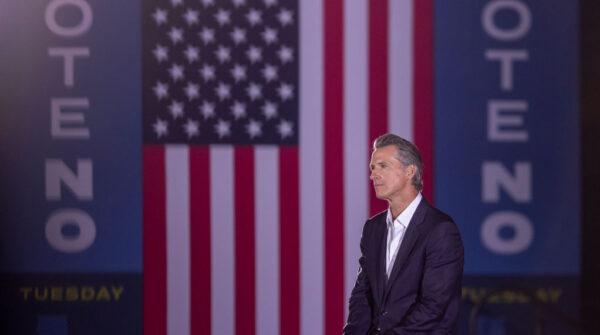 加州州长罢免选举揭晓 加文·纽森留任