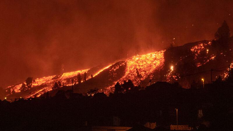 """火山喷发是""""精彩节目"""" 西班牙部长谈话惹议"""