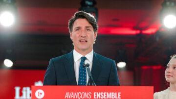 特魯多贏得第三任期 加拿大組建少數黨政府