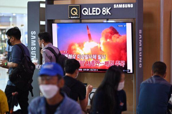 """朝鲜试射超高音速飞弹 文在寅下令""""全面性分析"""""""