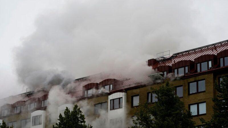 瑞典住宅大楼爆炸 约25人送医百人被疏散