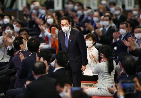 岸田文雄當選自民黨總裁 預料成日本新首相