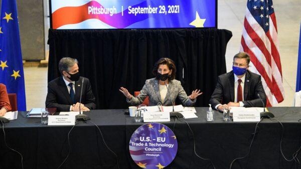 美歐聲明加強合作 多領域遏制中共