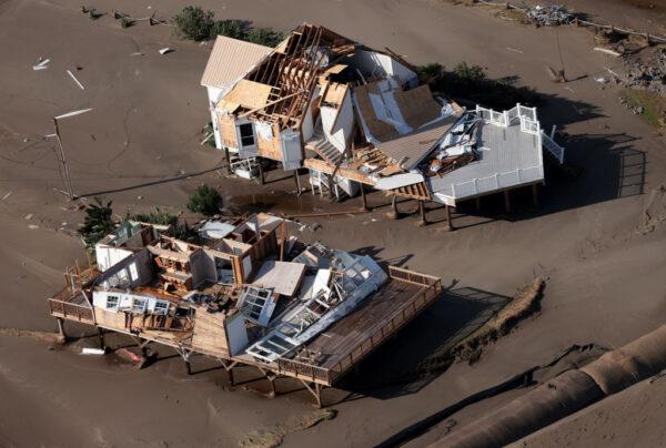 4级飓风艾达登陆 美路州酿4死百万户停电(组图)
