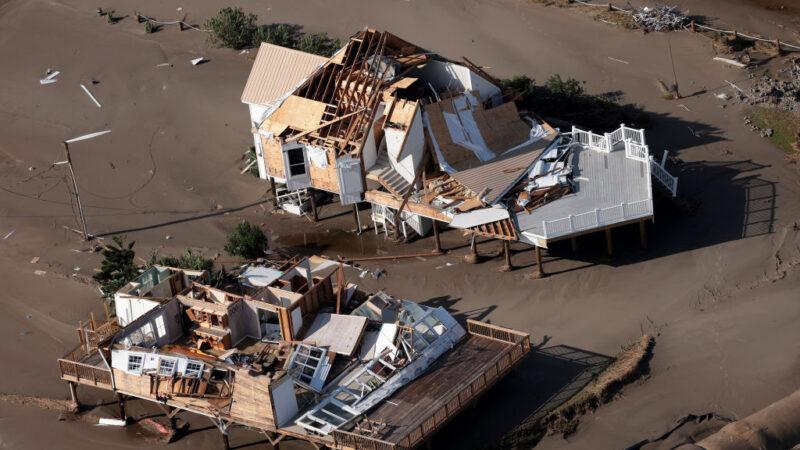 4級颶風艾達登陸 美路州釀4死百萬戶停電(組圖)