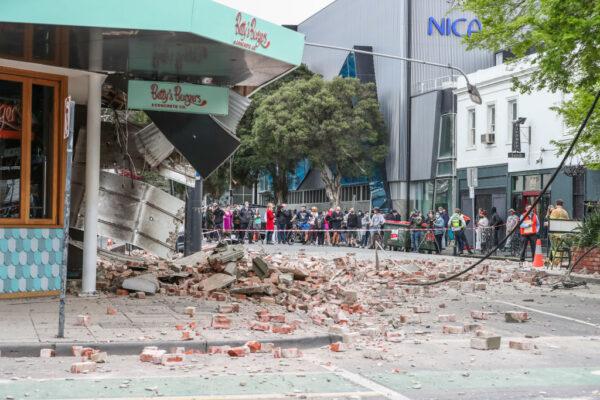 澳洲东南部罕见6.0地震 数百公里外民众惊慌