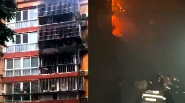 北京通州一小區火災5人死亡 傳死者為一家人(視頻)