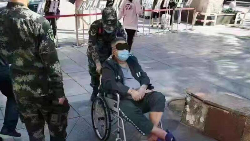 """传""""军老虎""""谷俊山从秦城到301就医 带手铐、眼罩"""