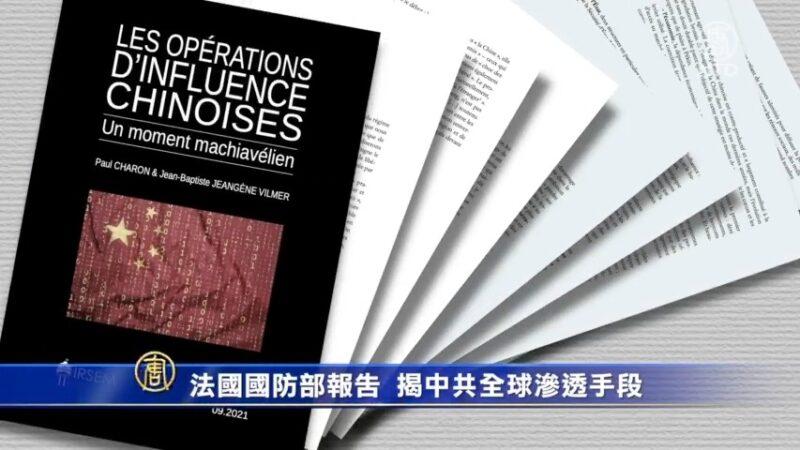 法国国防部报告 揭中共全球渗透手段