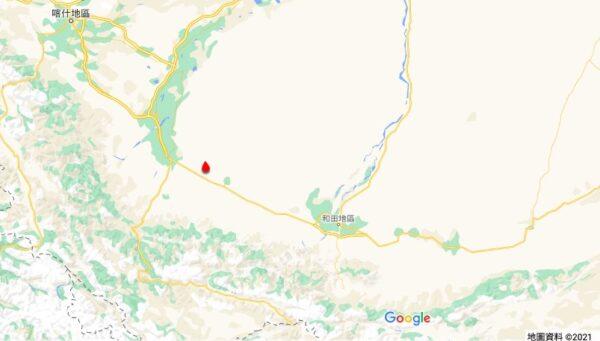 新疆10小時連續14次地震 最高達5.1級
