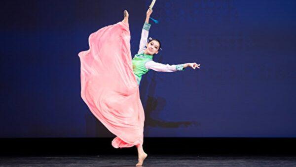 组图二:第九届中国古典舞欧美初赛少年女子组风采