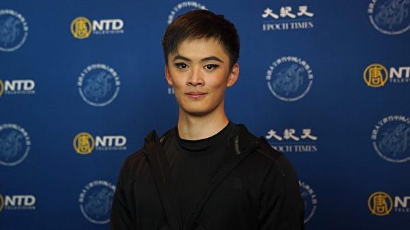 青年选手黄瑞轮:舞蹈由心而发