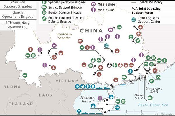 中共南部战区有能力维持南海扩张吗?