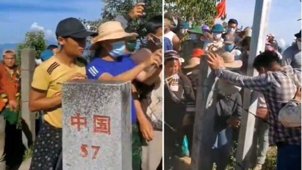 中共修边境墙通电防偷渡 越南边民强拆铁丝网