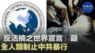 【禁聞】「反活摘世界宣言」籲全球制止中共暴行