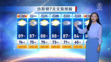休斯顿一周天气预报