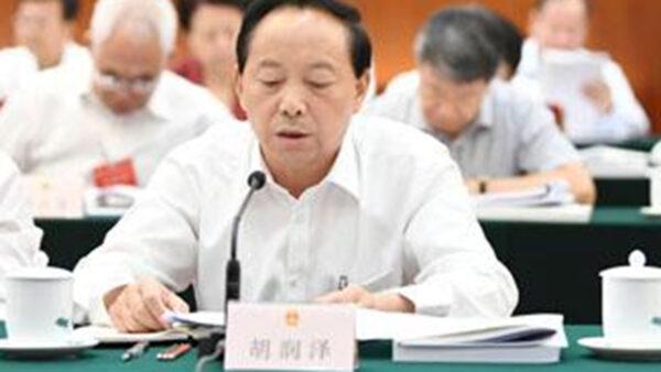 西安人大主任突辭陝西人大代表職務 原因不明