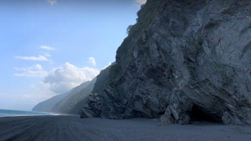 風浪阻通行 16人困南澳神祕沙灘海蝕洞(視頻)