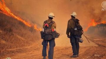 南加阿里薩山火蔓延迅速 當局緊急救災