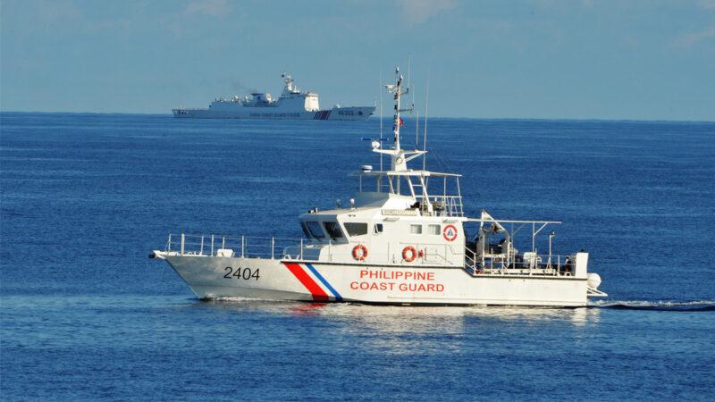 """菲律宾""""海洋天使"""" 用声音击退中共船只"""