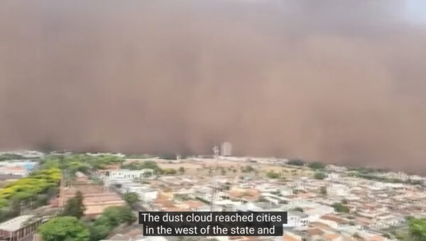 宛如末日 沙塵暴襲巴西聖保羅至少奪6命