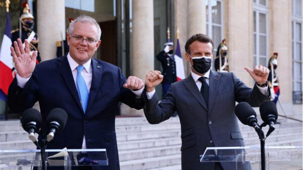法國派大使返回澳大利亞 澳熱烈歡迎