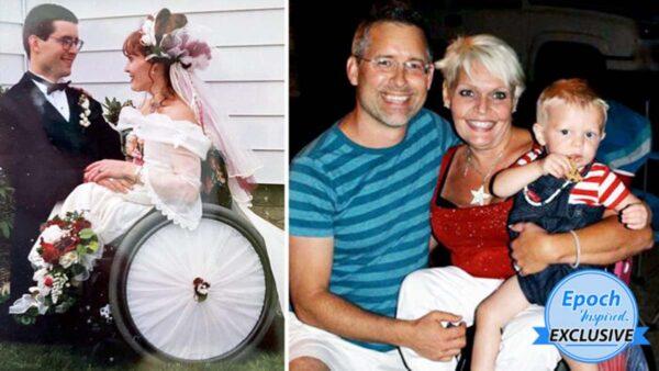 虽先天残疾 美国学者分享23年美满婚姻感悟